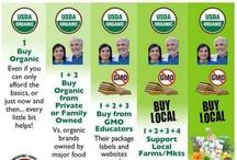 GMO FREE / by Stacie Francis