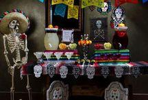 Dia de los muertos / 2016 Halloween theme!