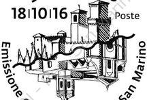 Cod. 639: Emissione congiunta San Marino-Malta / Valori: foglietto formato da n.2 valori da €1,60 cadauno Tiratura: 30.000 foglietti Stampa: offset a quattro colori, un Pantone e inchiostro invisibile giallo fluorescente a cura di Cartor Security Printing Dentellatura: 13 x 13¼ Formato francobolli: 40 x 30 mm Formato foglietto: 120 x 80 mm Bozzettista: Cedric Galea Pirotta