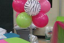 Balloon Decor (inspiration)