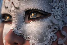 lady/ mask / day of the dead