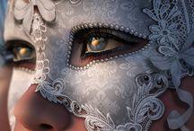 masks / by Stephanie MacIntyre