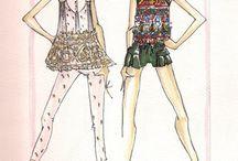 Illustrations / by Vanessa Arroyo