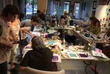 Art et Vin Ateliers les soirées du vendredi / Art Workshops on a wide range of topics