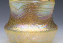 Czech historical glass - KRÁLÍK Vilém, Lenora - Eleonorhain / by Margaret Landa