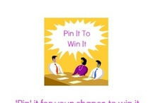 Pin It To Win It / #pinterest fun things to #win from great people I follow :) / by Cleaning On Wheels Jan Maskew
