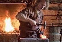 Forge and Smithing.