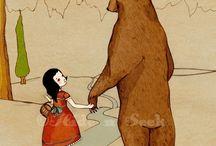 mis i dziewczynka