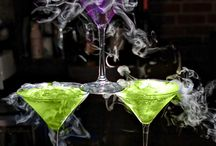 Halloween Chic Drinks / Chic drinks and cocktails for a haunted Halloween bash.  Alcoholic and nonalcoholic recipes are being served here.  www.halloweenchic.com / by Seasonal Showers