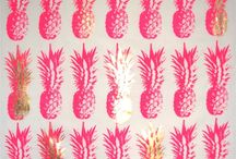 (pattern) Fruits and food