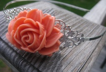 CJN Vintage Hair Accessories / Vintage inspired hair accessories with rich flower details and charm.