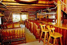 Redfish Lake Lodge Rustic Lounge