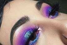 Purple eyes and hair lead