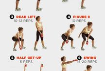 Kettlebell Workouts / by Alisa Zuniga