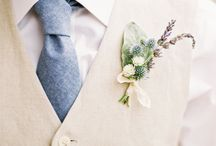 Boutonnieres/Hair flowers/Corsages