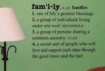 F A M I L Y ! / The definition of this word has changed over the years - yes, we have our family of origin.  And we are also blessed with our family of choice. / by Gloria Marrero Favreau, CCP