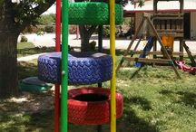Outdoor playgrounds-Home / Creating a fun learning outdoor environment