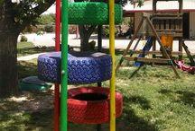 Kids playground / Kids Playground inspiration / Inspiration for the school area  /  / inšpirácia pre detské ihrisko / pre školský areál