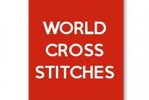 world cross stitches
