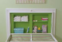 changing table / by Tina La Casse