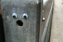 Funny Faces Everyday Places