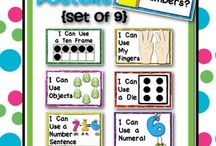 Math in Kindergarten  / by Brooke Young