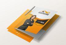 Real Estate Folders / Custom designed real estate presentation folders from Realty-Cards.com