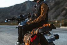 Biker saddles
