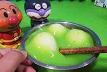 アンパンマン アニメ❤おもちゃ スライムの中から!たまごが出現!Anpanman Surprise Eggs