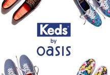 #PerfectlyPaired / If Oasis could grow trainers, we'd grow KEDs. After our umpteenth attempt at watering laces in a pot, we realised that collaborating would be easier. So we did - oasisstor.es/perfectlypaired / by Oasis Fashion