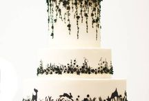 Cake Art ... Black and White / by Sugar Gourmande Lou