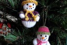 Tricoter pour Noël et Pâques / NOËl , tricot Chrismas knitting Natale Pasqua Easter