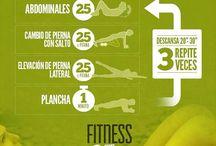 Rutinas Fitness / Tablas de ejercicios, Rutinas