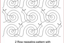 Quilting design patterns
