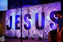Decoração igreja e congresso