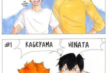 Not Yaoi. / I lied :p (faves are KatsuDeku and Kagehina (and ereri?)) and love Haikyuu and knb ones