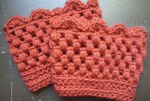 Crochet boot toppers / by Sharla Horner