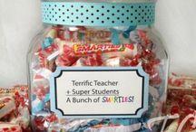 Teacher gifts / by Miranda Toutenhoofd