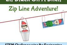 Christmas Science Activities / Christmas-related science experiments, science lessons, and STEM/STEAM activities for kids
