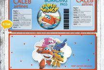 super wings idea party