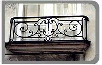 wrought iron railing exterior window boxes