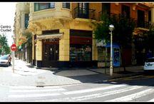 El entorno: el barrio de Gros / El Restaurante Aitzgorri se ubica en el barrio de Gros de Donostia-San Sebastián, muy cerca del Palacio de Congresos Kursaal. Calle Usandizaga 20.