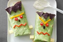 itty bitty spooky lunches / by Heidi N Travis Zunk