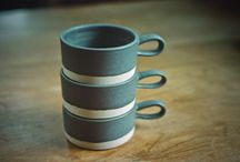 Ceramics / Everything you can make with clay and your hands.  Stoneware, mugs, plates, planters, decorations