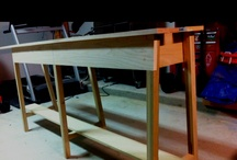 weekend foyer table project / by David Tisdale