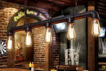 Pendant lighting industrial