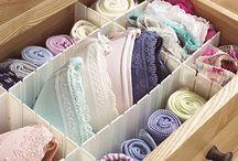 Unterwäsche organisieren
