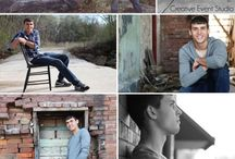 Boys will be boys / Posing for awesome guy portrait photography.
