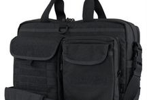 Man Bags / Grab a tactical bag for everyday essentials, loos cool in the boardroom as well as on those missions, new fathers stuff them with nappies and off you go :-)