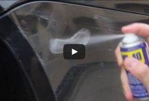 car scratch remove diy